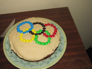 Olympic Coffee Cake