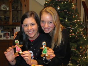 Gingerbread people!