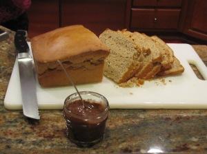 PB Bread & Homemeade Nutella